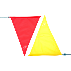 Clickers Archery Target Flag