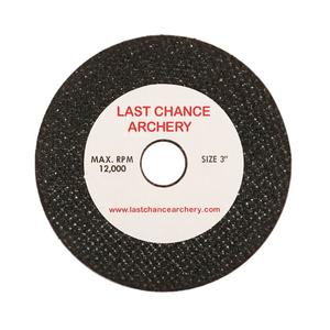"""Last Chance Archery 3"""" Cut-off Saw Blade Wheel"""