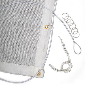 Knox Premium Backstop Netting - White