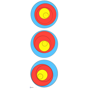 Socx Differential Learning Target Face - Single